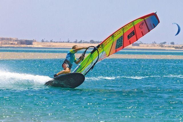 Ägypten Windsurfing