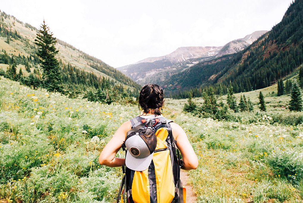 You can travel anywhere for a walking holiday