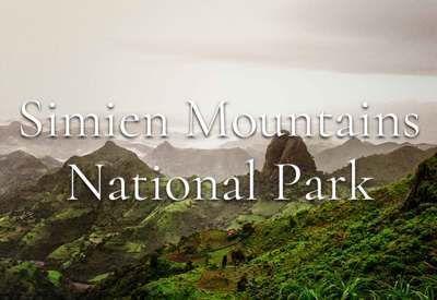 Simien Mountains National Park Ethiopia