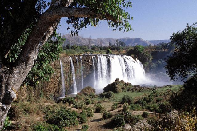 Tisissat-Wasserfälle des Blauen Nil