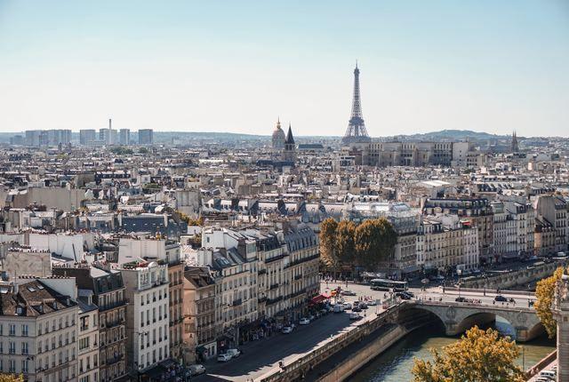 Paris Checkliste, Aussicht auf den Eiffeturm