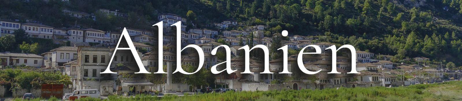Albanien Banner