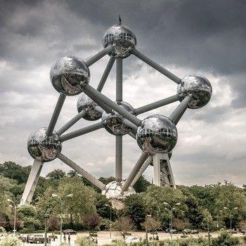Atomium Brussel Belgie