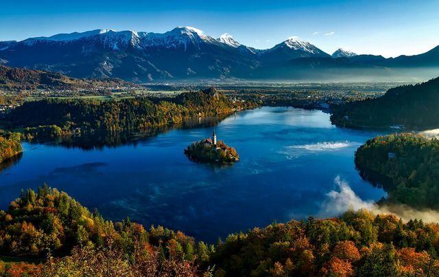 Slowenien Alpensee