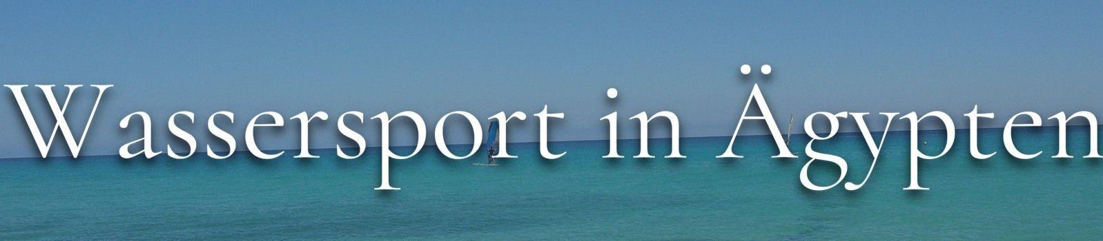 Wassersport Ägypten