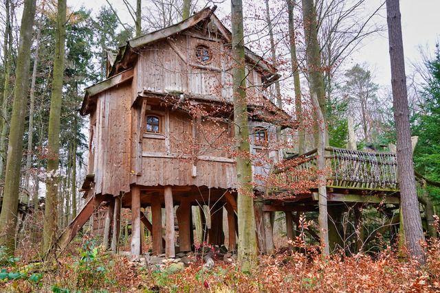 Baumhaus einfach