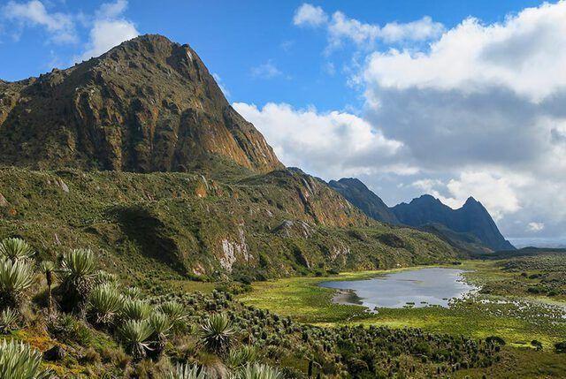 Bogota Sumapaz Páramo Nationalpark