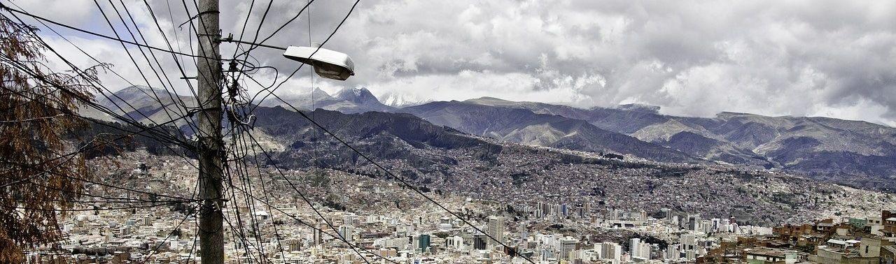 Bolivie Ville Vue Panoramique