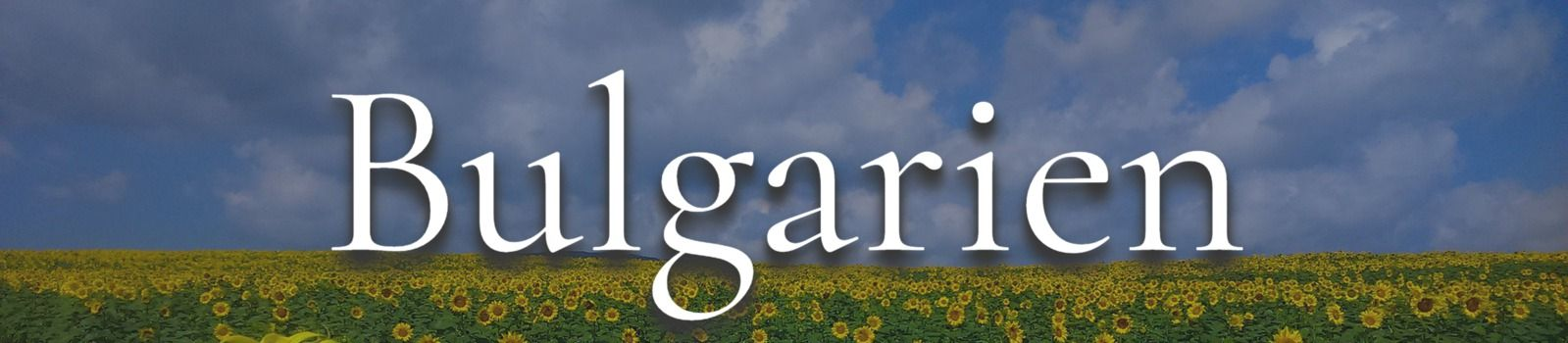 Bulgarien Banner