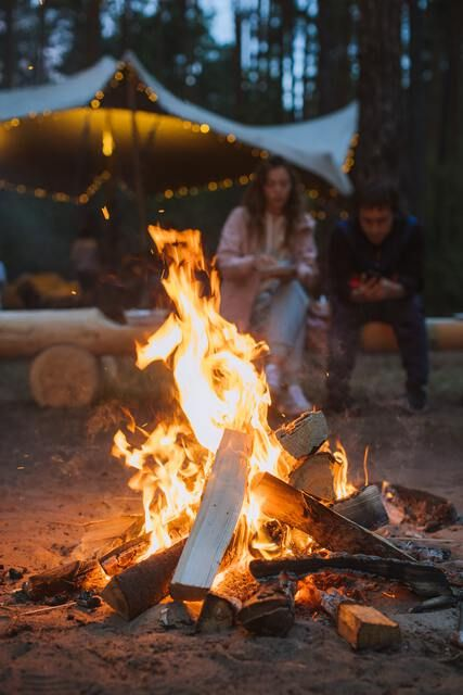 Lagerfeuer Camping