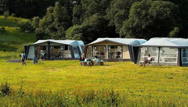 Zelte Campingplatz