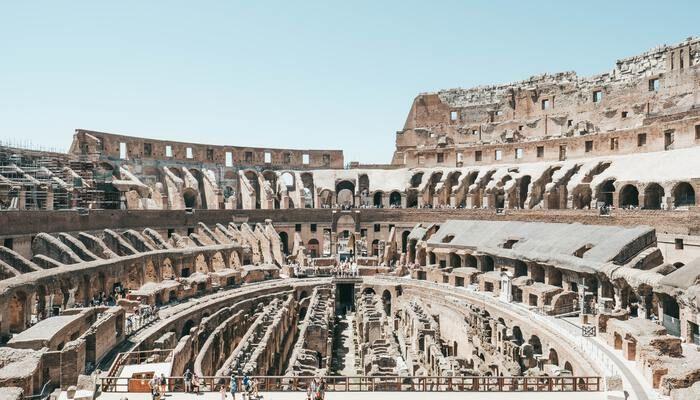 Colosseum binnenzijde