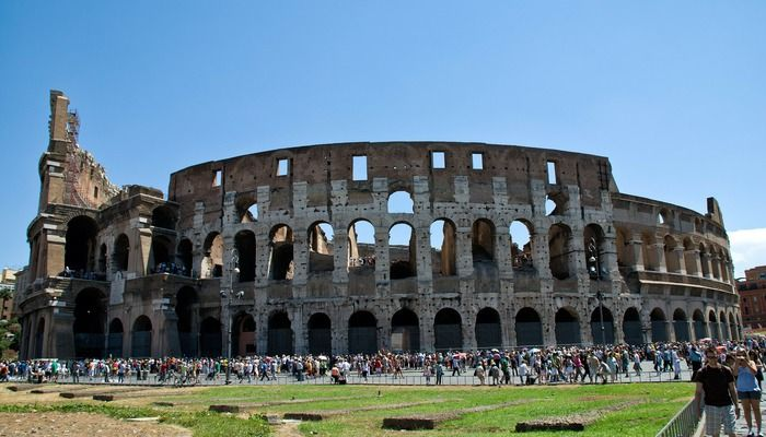 Colosseum buitenzijde