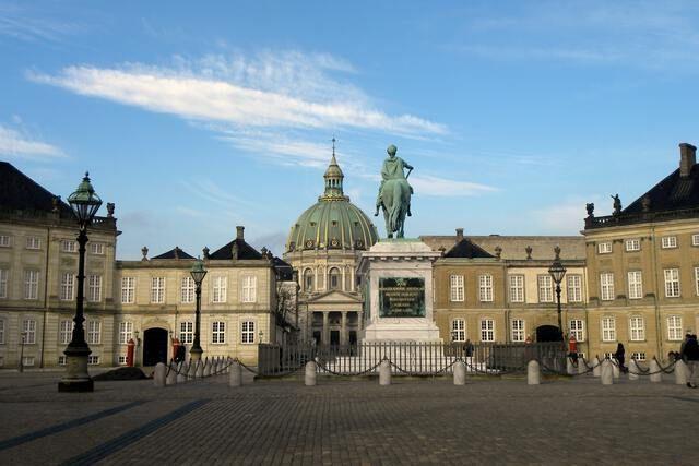 Schloss Amalienborg Dänemark