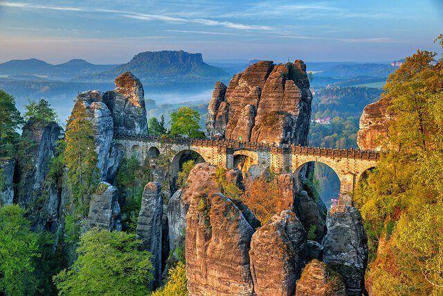 Deutschland Sächsische Schweiz