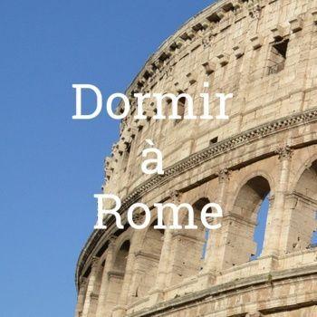 Dormir à Rome