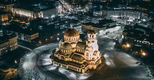 Bulgarien, Sofia,Alexander-Newski-Kathedrale