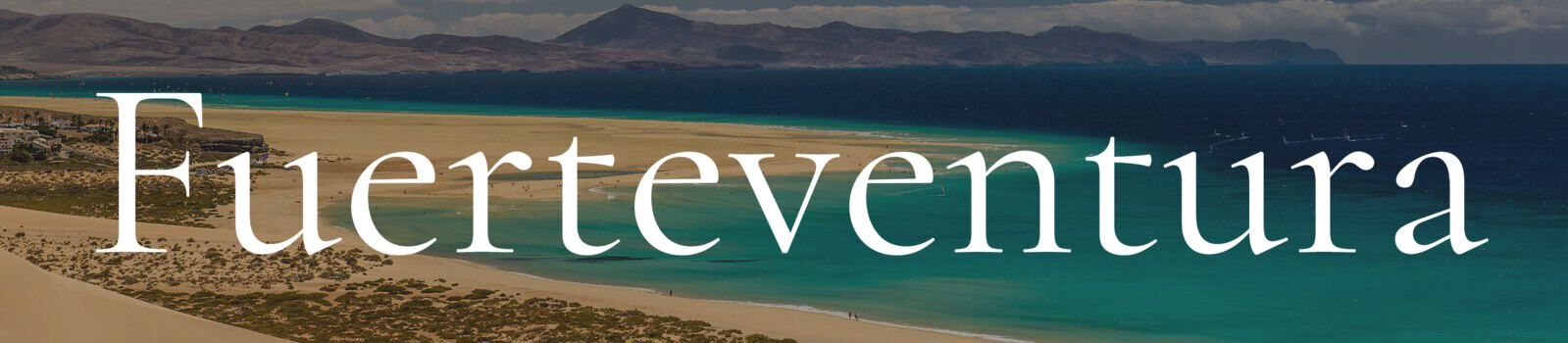 Fuerteventura Banner