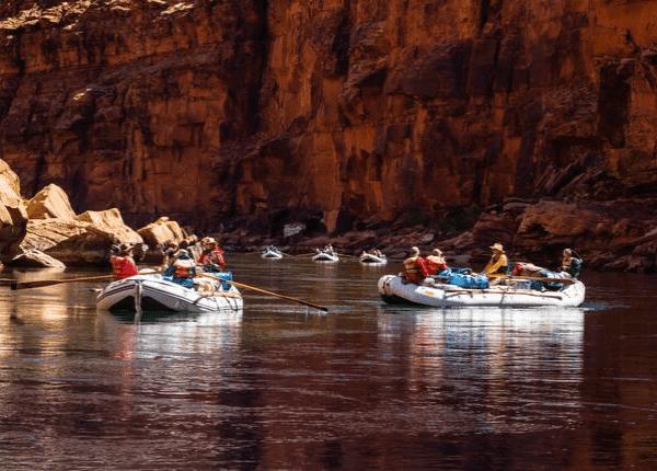 Arizona Rafting Grand Canyon by Ralph Hopkins