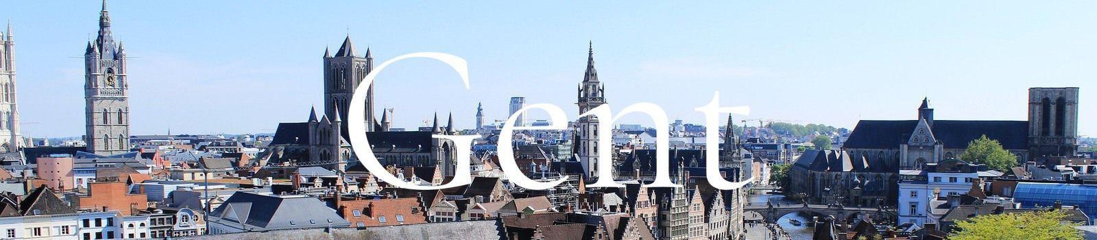 Uitzicht Gent