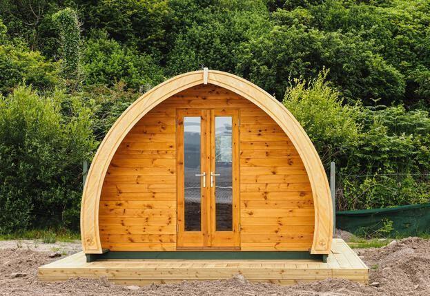 Glamping Hütte