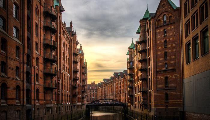 Gracht in Hamburg