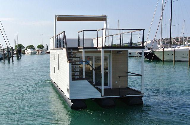 Hausboot modern