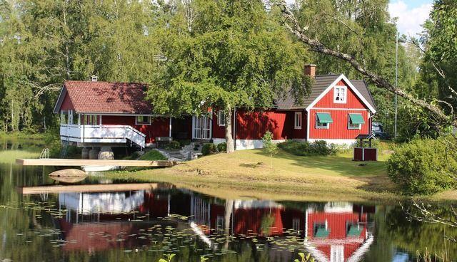 Hausboot fahren Schweden