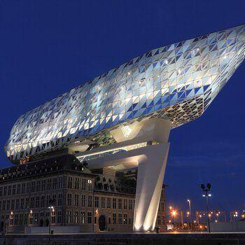 Havenhuis Antwerpen Belgie