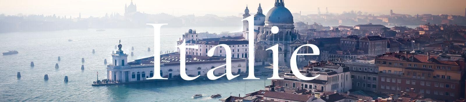 Découvrir l'Italie