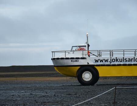 Jökulsárlón bateau