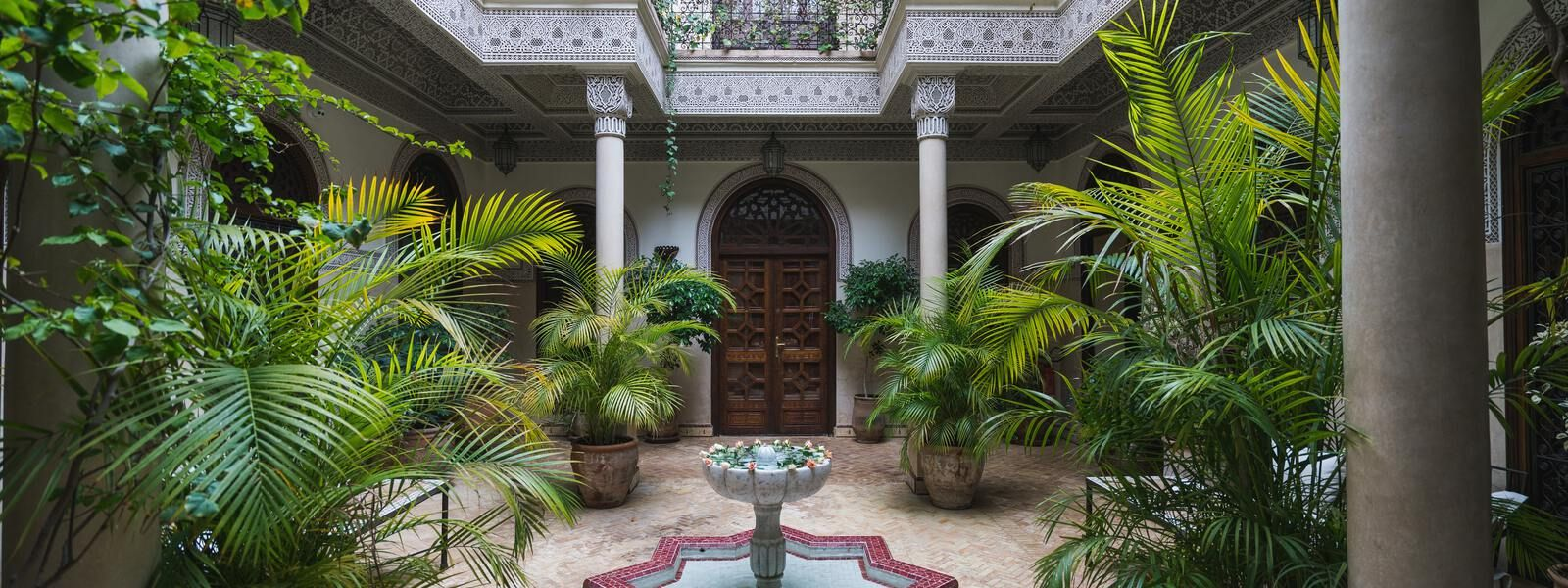 Jardin riad Marrakech