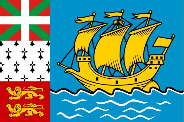 Vlag Saint-Pierre en Miquelon