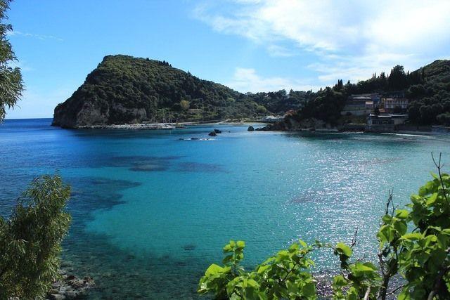 Bucht Korfu