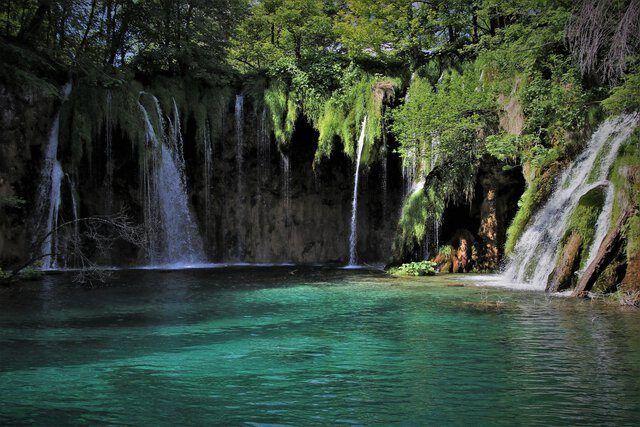 Kroatien Wasserfall