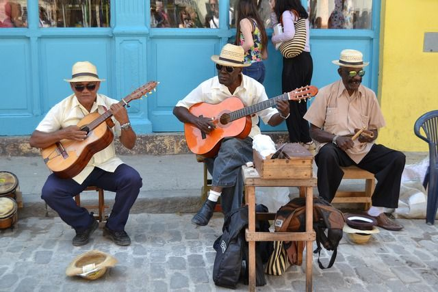 Kuba Musiker
