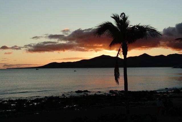Sonnenuntergang Lanzarote - Ausflüge