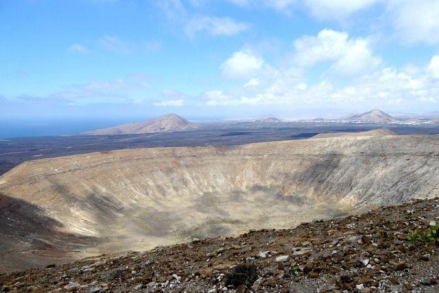 Vulkankrater Lanzarote