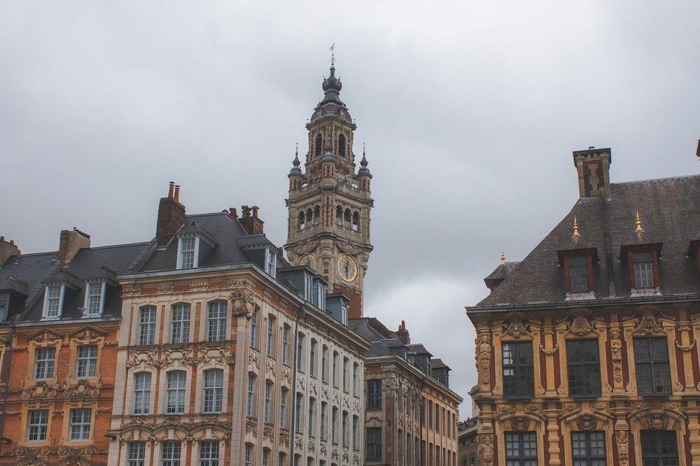 City Buildings Clock Tower