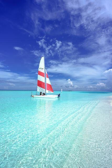 Segelboot Malediven