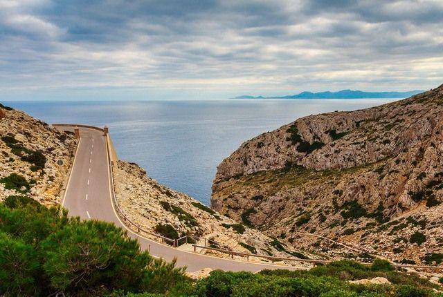 Mallorca Mietwagen Straße