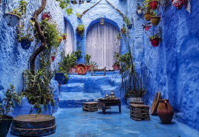 marocco citta colorate