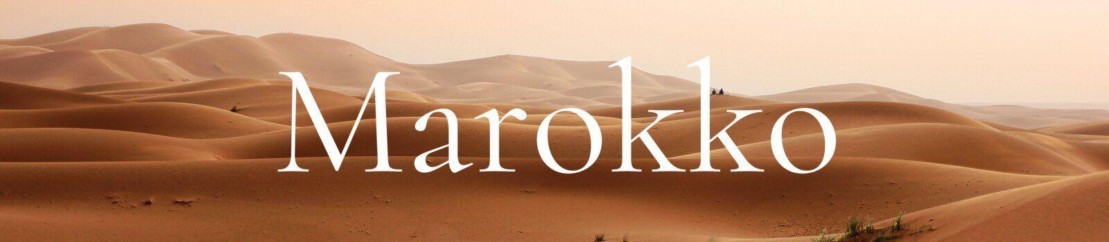Marokko Banner