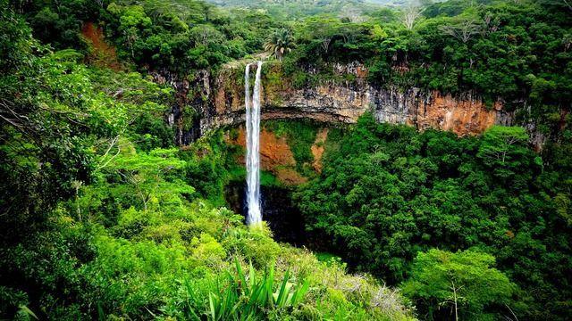 Wasserfall Mauritius