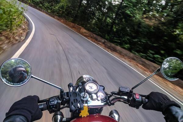 Vakantie met de motor