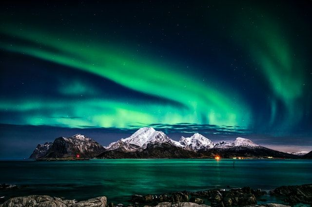 Nordlichter Island 3