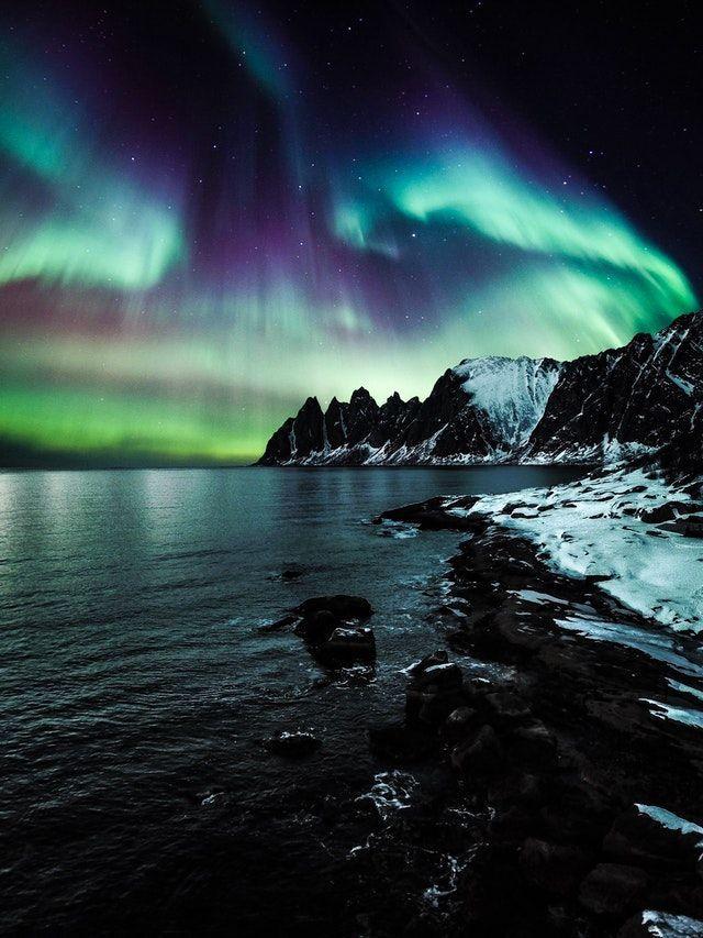 Nordlicht Island 2