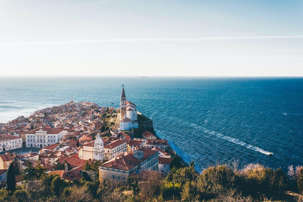 Slovenia Visita da Pirano su costa adriatica