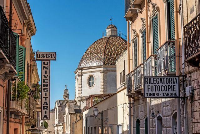 Stadt Sardinien
