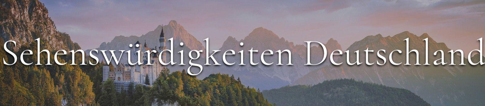 Sehenswürdigkeiten Deutschland Banner